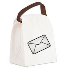 Envelope Canvas Lunch Bag