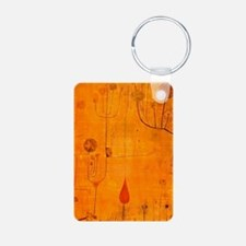 Fruits on Red, Paul Klee p Keychains