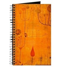 Fruits on Red, Paul Klee painting Journal