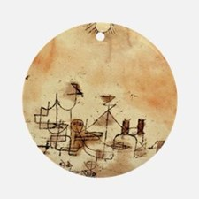 North Africa - Paul Klee painting Round Ornament