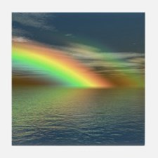 Rainbow 005 Tile Coaster