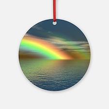 Rainbow 005 Round Ornament