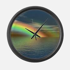 Rainbow 005 Large Wall Clock