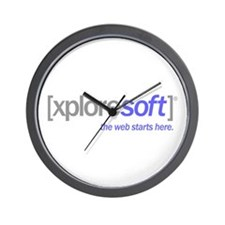 xploresoft Wall Clock