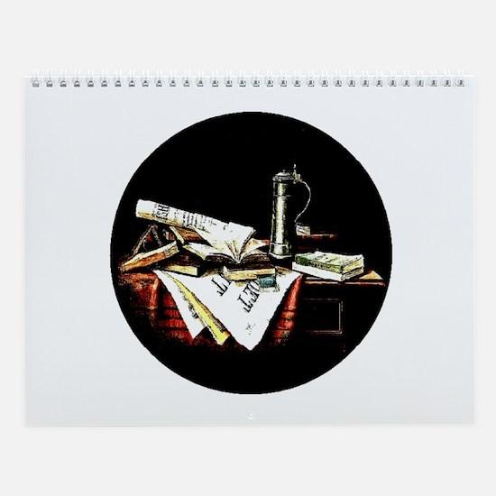 Nicholas A. Brooks *Revamped* Wall Calendar