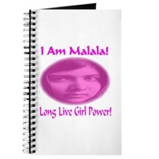 I Am Malala Long Live Girl Power Journal