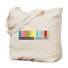 Wynnum Sticker Tote Bag
