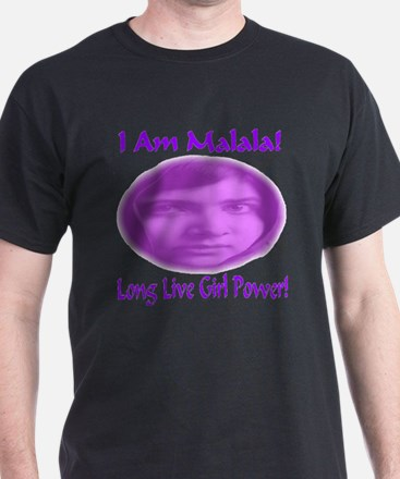 I Am Malala Long Live Girl Power T-Shirt