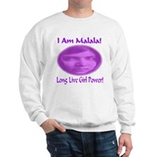 I Am Malala Long Live Girl Power Sweatshirt