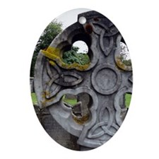 Celtic Cross, Scotland Oval Ornament