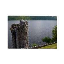 Urquhart Castle, Loch Ness, Scotl Rectangle Magnet