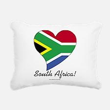 Heart South Africa (World) Rectangular Canvas Pill