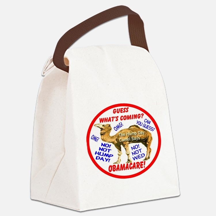 Obamacare Camel Canvas Lunch Bag