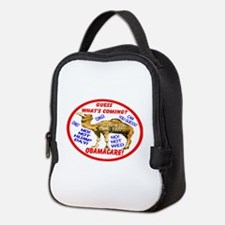 Obamacare Camel Neoprene Lunch Bag