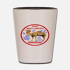 Obamacare Camel Shot Glass