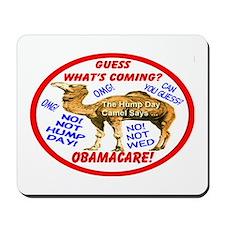 Obamacare Camel Mousepad
