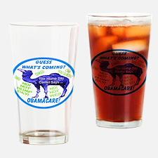Obamacare Camel Drinking Glass