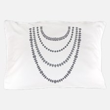 Rappers chain of diamonds Pillow Case