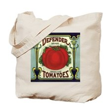 Vintage Fruit Crate Label Tote Bag