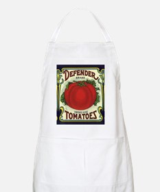 Vintage Fruit Crate Label Apron