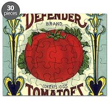 Vintage Fruit Crate Label Puzzle
