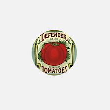 Vintage Fruit Crate Label Mini Button