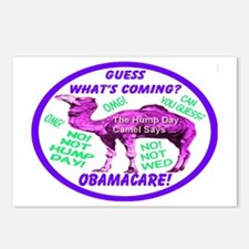 Obamacare Happy Camel Postcards (Package of 8)
