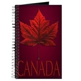 Maple leaf Journals & Spiral Notebooks