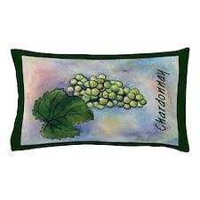 Chardonnay Wine Grapes Pillow Case