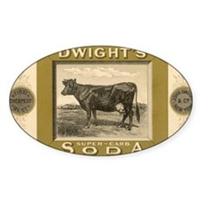 Vintage Product Label, Dwight's Sod Decal