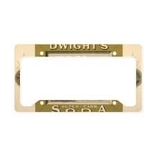 Vintage Product Label, Dwight License Plate Holder
