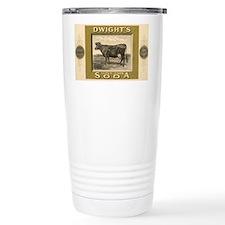 Vintage Product Label, Dwight's Travel Mug