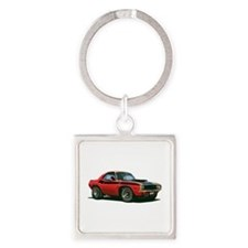 BabyAmericanMuscleCar_70CHLGR_Red Keychains