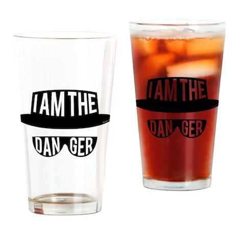 I am the Danger Drinking Glass