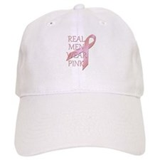 Real Men Wear Pink Awareness Ribbon Baseball Baseball Cap
