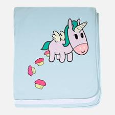 unicorncakesflip2.png baby blanket