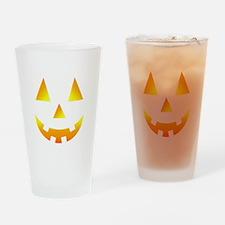 little pumpkin-blk Drinking Glass