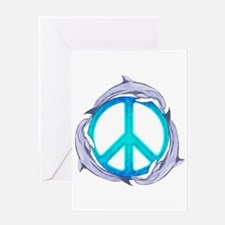 Dolphin Peace Greeting Cards
