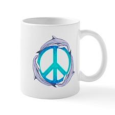 Dolphin Peace Mugs