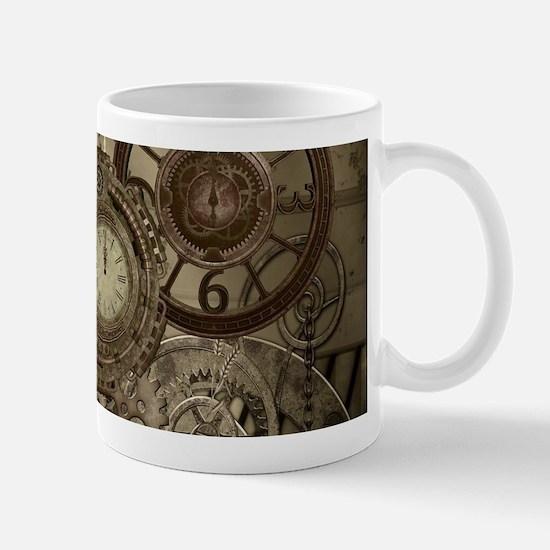Steampunk, clocks and gears, mechanical design Mug