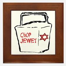 Chop Jewey Framed Tile