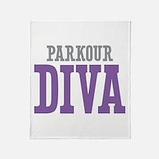 Parkour DIVA Throw Blanket