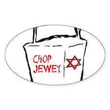 Chop Jewey Oval Decal