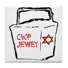 Chop Jewey Tile Coaster