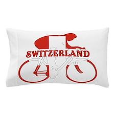 Swiss Cycling Pillow Case