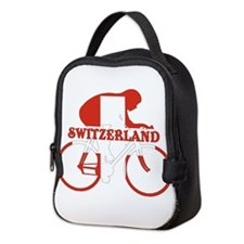 Swiss Cycling Neoprene Lunch Bag