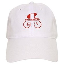 Swiss Cycling Baseball Baseball Cap
