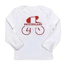 Swiss Cycling Long Sleeve Infant T-Shirt