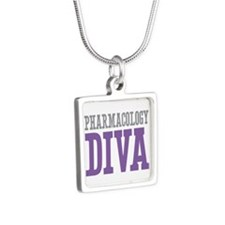 Pharmacology DIVA Silver Square Necklace