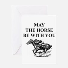 RACE Greeting Cards